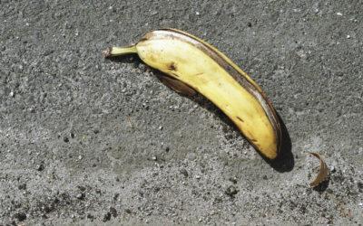 Varning för mentala bananskal
